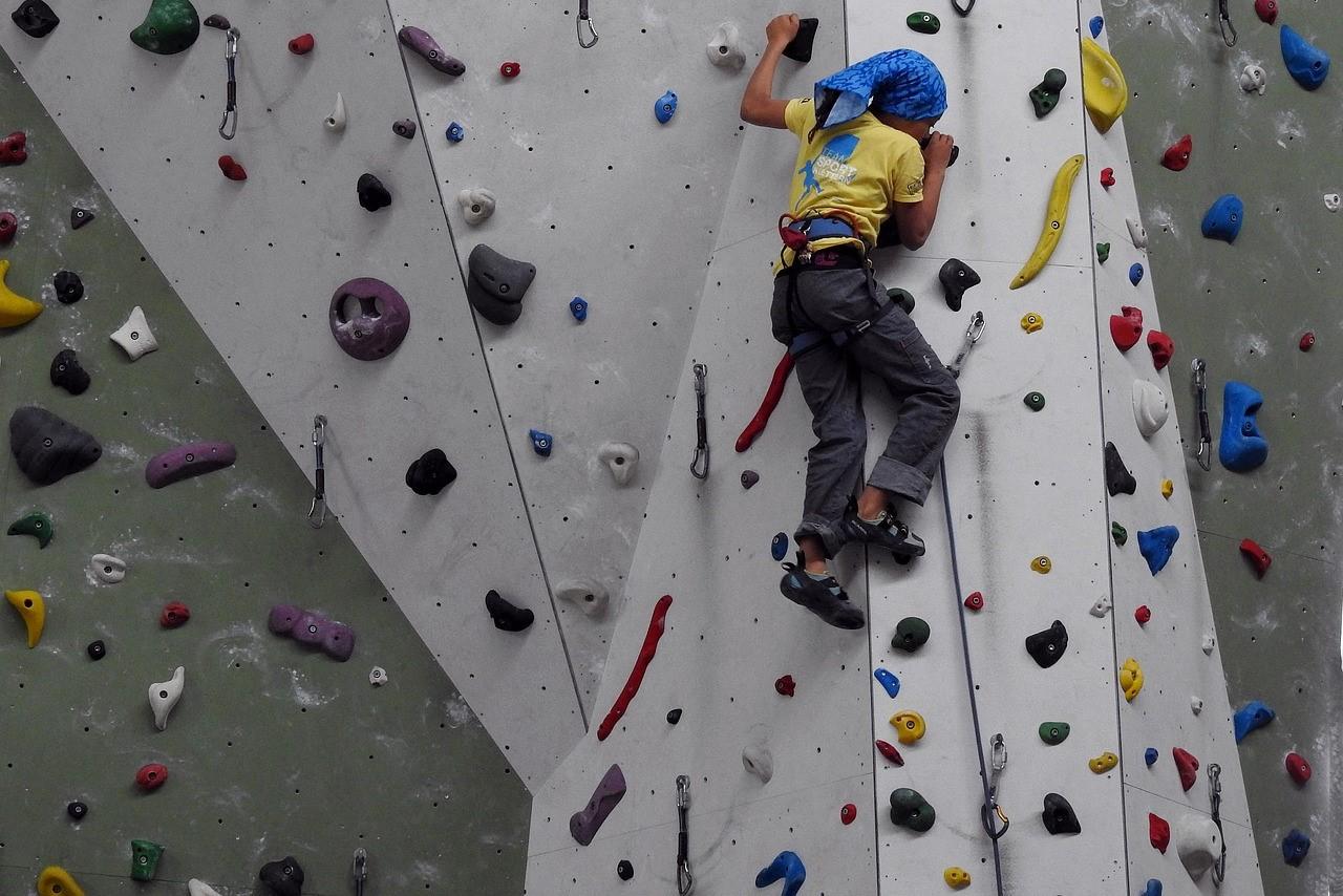 Klettern mit 360° Videos