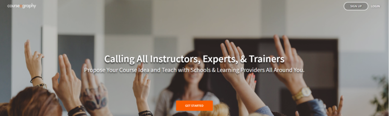 Selbst einen Online-Kurs unterrichten? Courseography verbindet Dozenten und Kursanbieter