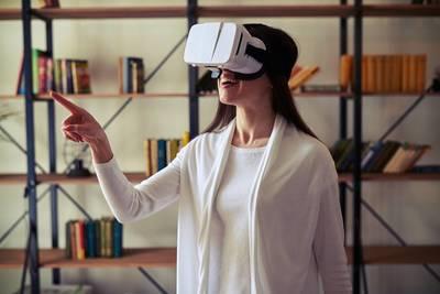 Normal virtual reality bildung