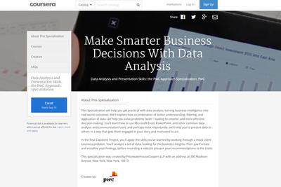 PwC startet Business Intelligence-MOOC: Datenanalyse online lernen