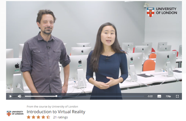 New MOOCs About Virtual Reality Provide Training for an Exploding VR Job Market