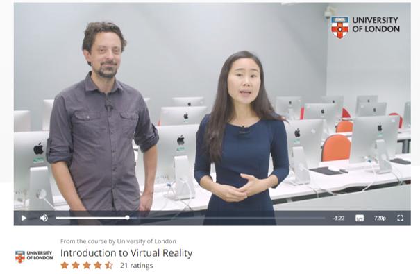 Neue MOOCs über Virtual Reality: Online-Training für den explodierenden VR-Arbeitsmarkt