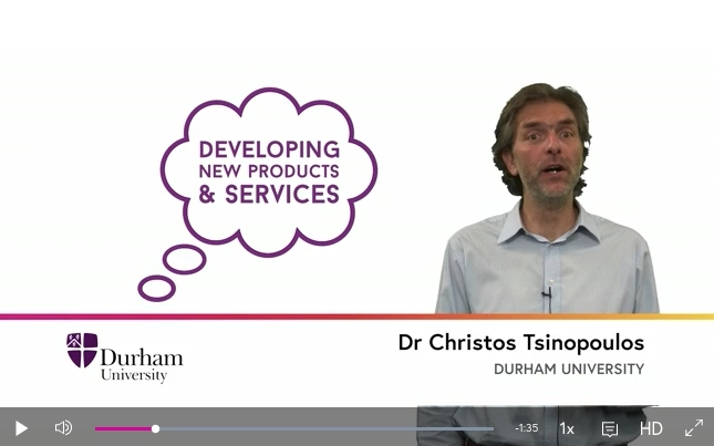 Instructors' experiences with MOOCs: Interview with Prof. Christos Tsinopoulos